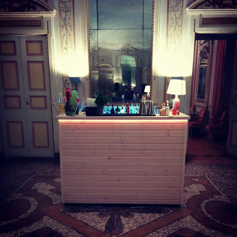 Station legno bianco - Villa Borromeo Cassano d'adda