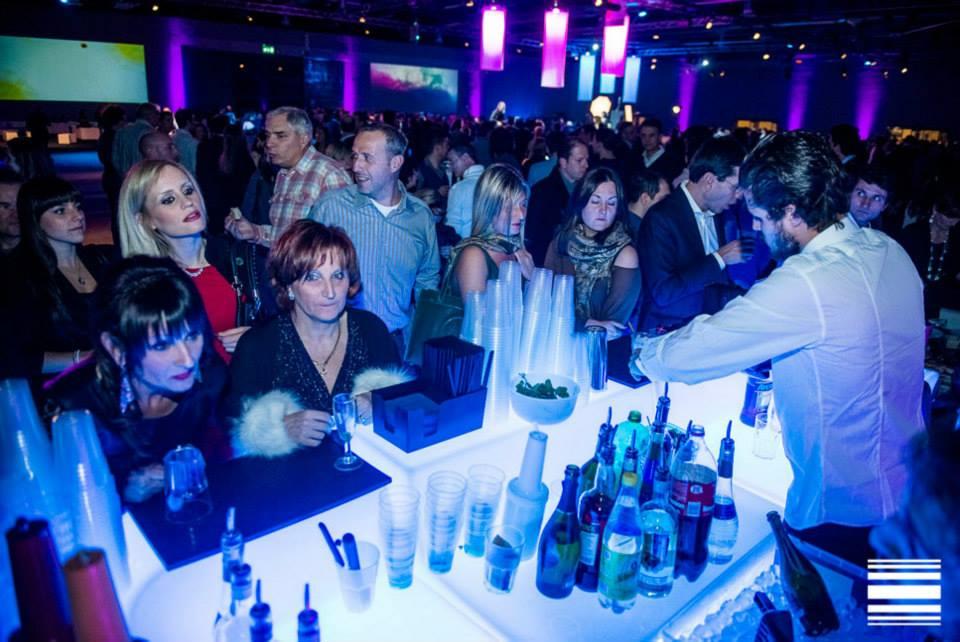 Bartender professionisti per evento aziendale Tenaris